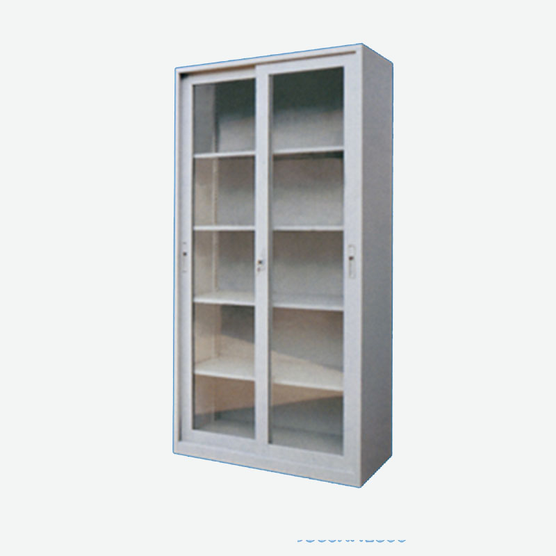All Glass Sliding Door Cabinet Yuanjin Science Technology Group